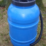 Blue Rain Barrel 220L / 55 Gallon