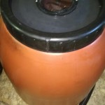 Terracotta Rain Barrel 180L / 47 Gallon