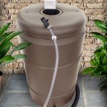 Sandstone Rain Barrel 240L / 60 Gallon