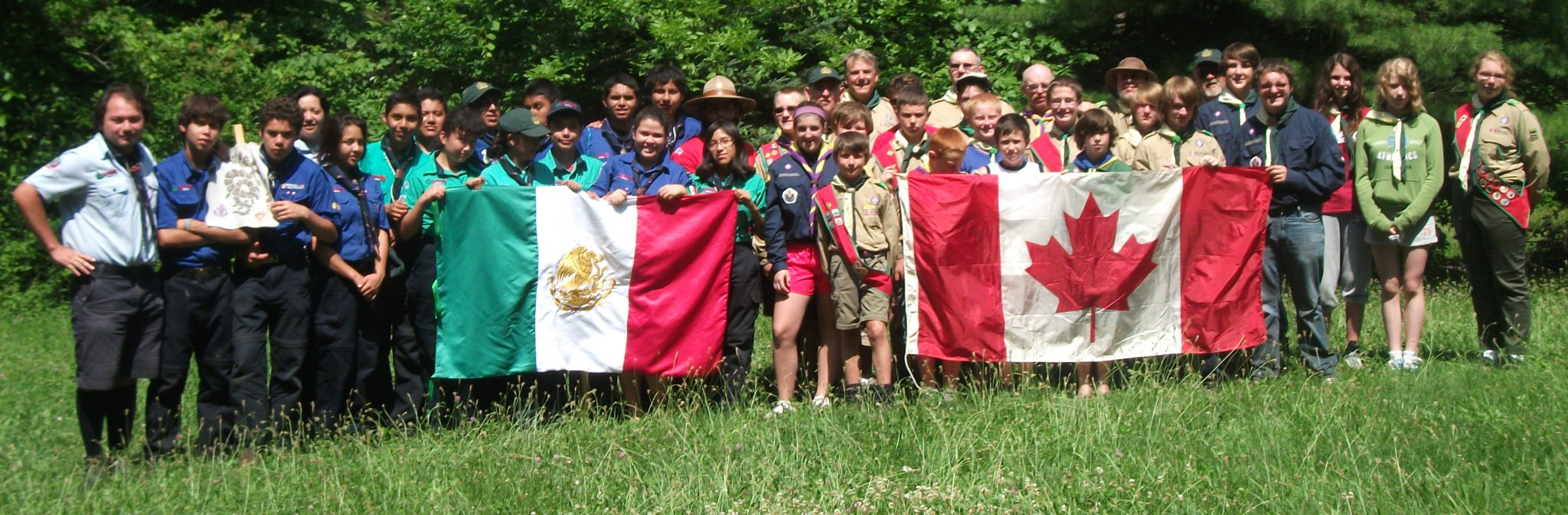 St. Luke's 2nd Peterborough Scouting Group Photo (2013)