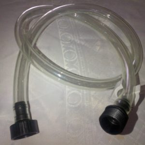 Clear Hose  and Clip 002
