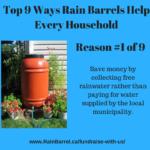 Top 9 benefits of rain barrels